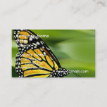Monarch Butterfly Design Business Cards