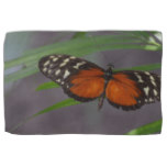 Natural Butterfly Hand Towel