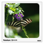 Perfect Zebra Butterfly Wall Decal