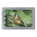 Winged Butterfly Rectangular Belt Buckle